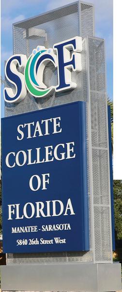 SCF Sign - State College of Florida